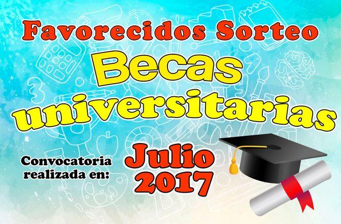Becas 2017